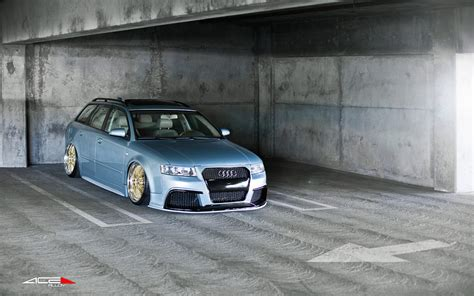 audi   wagon    front  rear gold ace