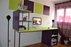 peindre un bureau meilleures images d39inspiration pour With good peinture salon 2 couleurs 13 meuble bureau