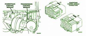 1999 Dodge Intrepid Sedan Transmission Fuse Diagram