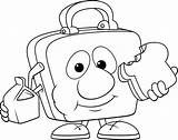 Lunch Coloring Box Pages Lunchbox Drawing 為孩子�的�色頁 Getdrawings sketch template