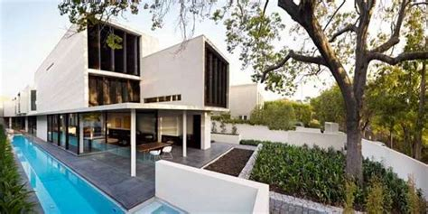 geometric homes modern geometric homes verdant avenue house by robert mills architects