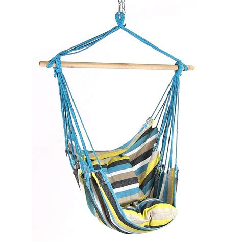 Hanging A Hammock Chair by Hanging Hammock Chair Swing For Indoor Outdoor Use Max