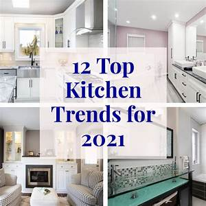 12, Top, Kitchen, Trends, For, 2021