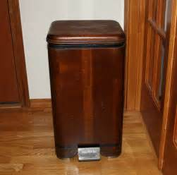 Decorative Wood Kitchen Trash Cans