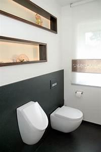 Toilette Mit Dusche : badezimmer g ste wc g ste toilette und bad einrichten ~ Watch28wear.com Haus und Dekorationen