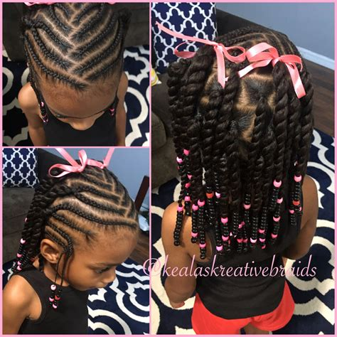 black little girl hairstyles with beads little girl hairstyle beads and braids little black