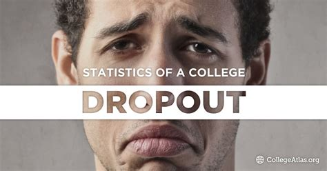 college dropout rate dropout statistics collegeatlas