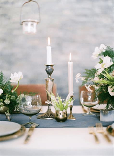 winter wedding tablescape  wed