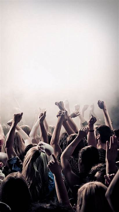 Concert Iphone Wallpapers Festival Dancing Android Am
