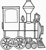 Train Steam Coloring Locomotive Engine Clipart Clip Cliparts Template Pages Trains Panda Clipartpanda sketch template