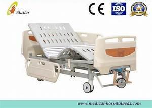 Luxury Abs Guardrail Adjustable Medical Hospital Bed