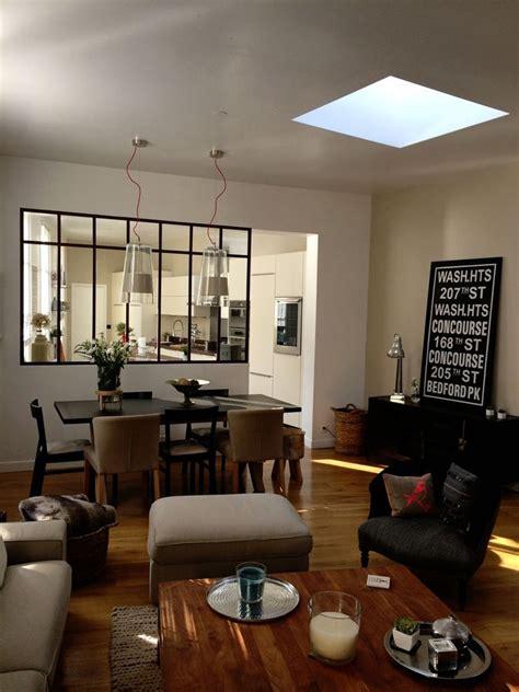 verri鑽e de cuisine separation cuisine style atelier maison design bahbe com