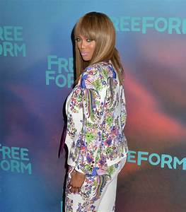 Tyra Banks at Freeform Upfront in New York 4/19/2017