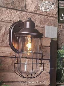 Costco Led Dusk To Dawn Light Manor House Vintage Led Coach Light Costco Our Picks