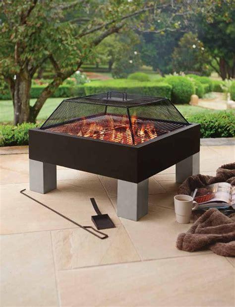big  outdoor fire pit outdoor furniture design  ideas