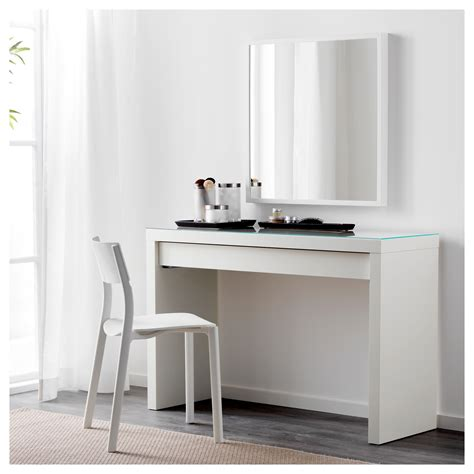 vanity desk ikea malm dressing table white 120 x 41 cm ikea