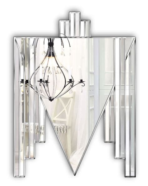 Order now with free shipping, free installation & cod. Danube Original Handcrafted Art Deco Wall Mirror in Silver - Bespoke Mirrors   Art Deco Mirrors ...