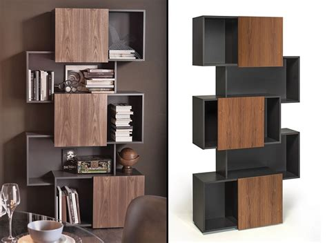 Living Room Bookshelves Modern by Piquant Modern Bookcase By Cattelan Italia Bookshelves