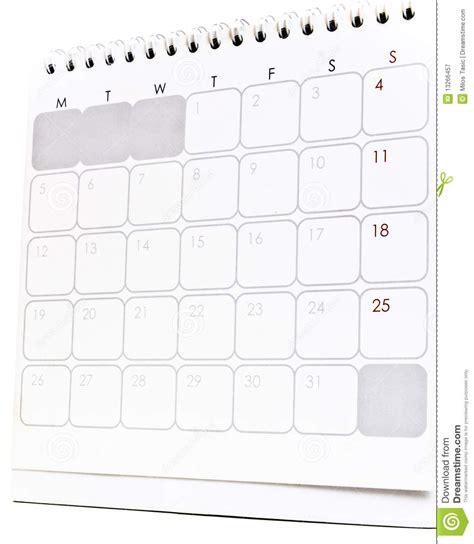 desk calendar royalty stock photography image
