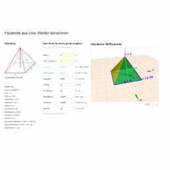 Quadratische Pyramide A Berechnen : lektion ste04 quadratische pyramide matheretter ~ Themetempest.com Abrechnung