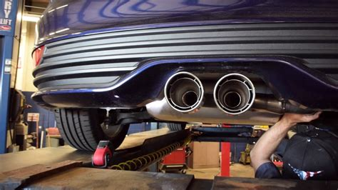 Ford Performance Exhaust Focus St by Ford Performance Exhaust Install 2016 Ford Focus St