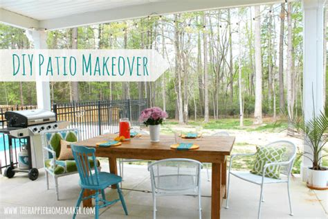 may days a small patio makeover diy patio makeover on the cheap house forums