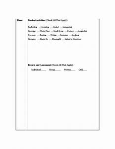 siop lesson plan template free download With siop lesson plan template 2 example