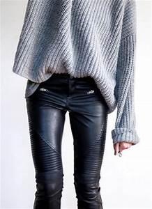 Vetement Femme Rock Chic : ideias para usar roupa de couro ~ Melissatoandfro.com Idées de Décoration