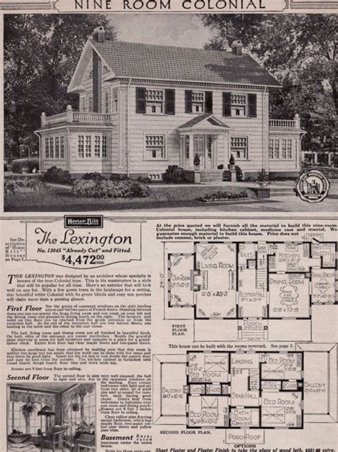 real sears roebuck   mail order craftsman home house plans kit homes vintage