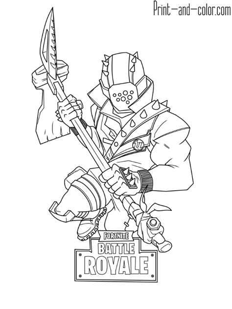 fortnite marshmallow  coloring pages