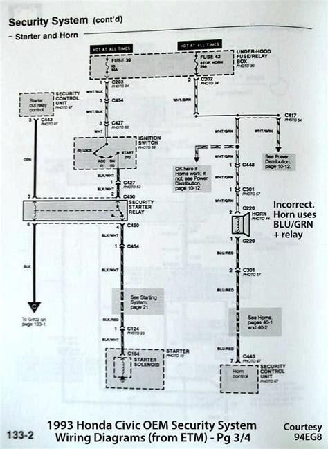 ep3 honda civic wiring diagram wiring diagram for free