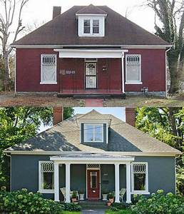 20 Home Exterior Makeover Before and After Ideas - Home
