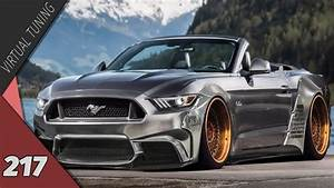 Virtual Tuning - Ford Mustang Cabrio #217 - YouTube  Ford