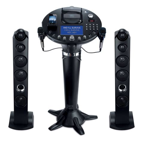 karaoke machine for the singing machine ism1028xa is fully compatible with ipod
