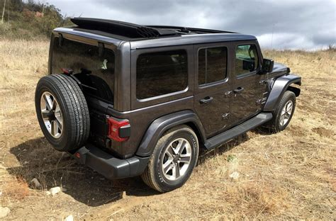 Jeep Wrangler 2018 Review by 2018 Jeep Wrangler Look Review Motor Trend 2018