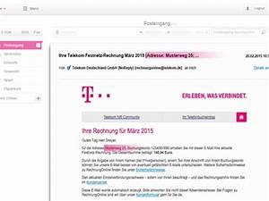 Telekom Geschäftskunden Rechnung : deutsche telekom so macht die telekom die rechnung online sicherer ~ Themetempest.com Abrechnung