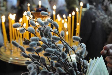 Вербное воскресенье 2017 служба в храме
