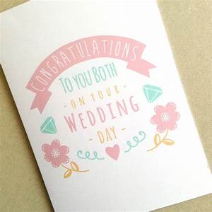 congratulations wedding card With images of wedding congratulation cards