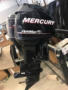 Used 2009 Mercury Optimax 115 Hp 25 U2033 Shaft