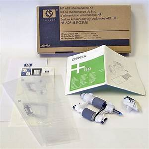 how to fix hp error jam in document feeder With q5997a document feeder kit