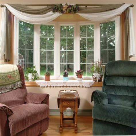 bow window treatments pictures master bedroom bay window