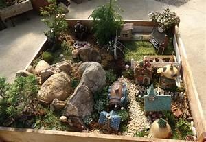 Häuschen Mit Garten : miniatur garten selber gestalten 25 ideen f r mini g rten ~ Lizthompson.info Haus und Dekorationen