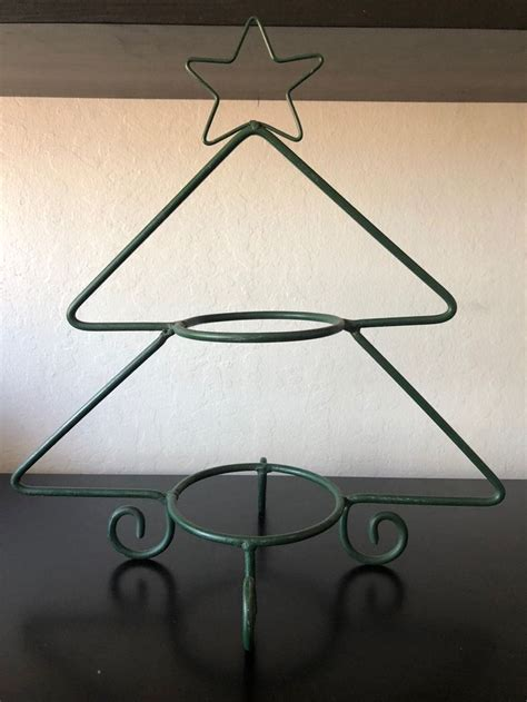 christmas tree tier plate serving stand wrought iron christmas tree serving stand decor
