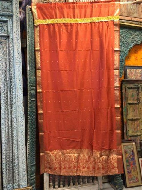 38 best images about indian sari curtain on