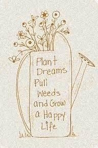 Plants, Happy a... Garden Happiness Quotes