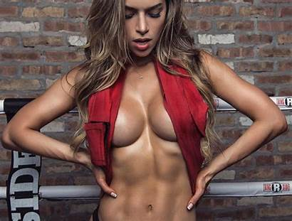 Fitness Abs Models Female Muscle Anllela Sagra