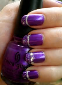 Silver and purple nails designs viewing gallery
