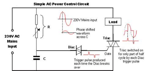 Triac Diac Firing Circuit Fundamentals Power