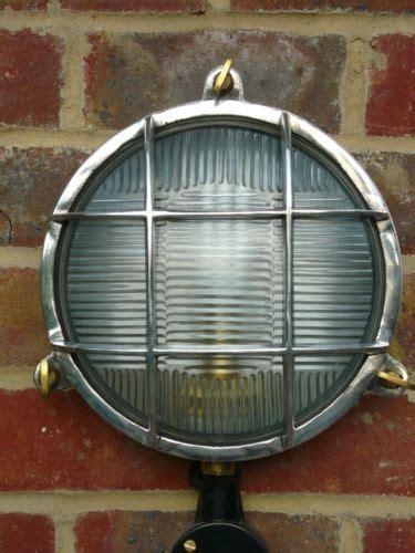 industrial style bulkhead outdoor wall light l ebay