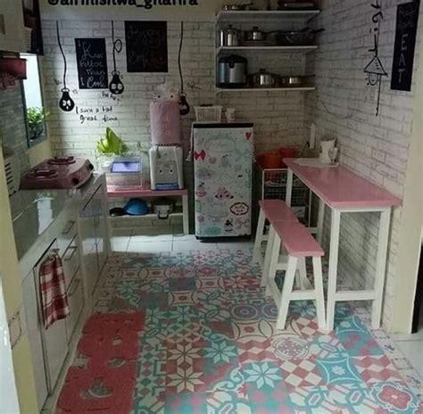 desain dapur sederhana unik minimalis cantik terbaru